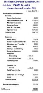 2013 Profit & Loss
