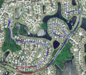 Waterford Runners and Riders Home Course Map