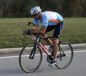 Event winner Brock Brinkerhoff - course record of 13:00