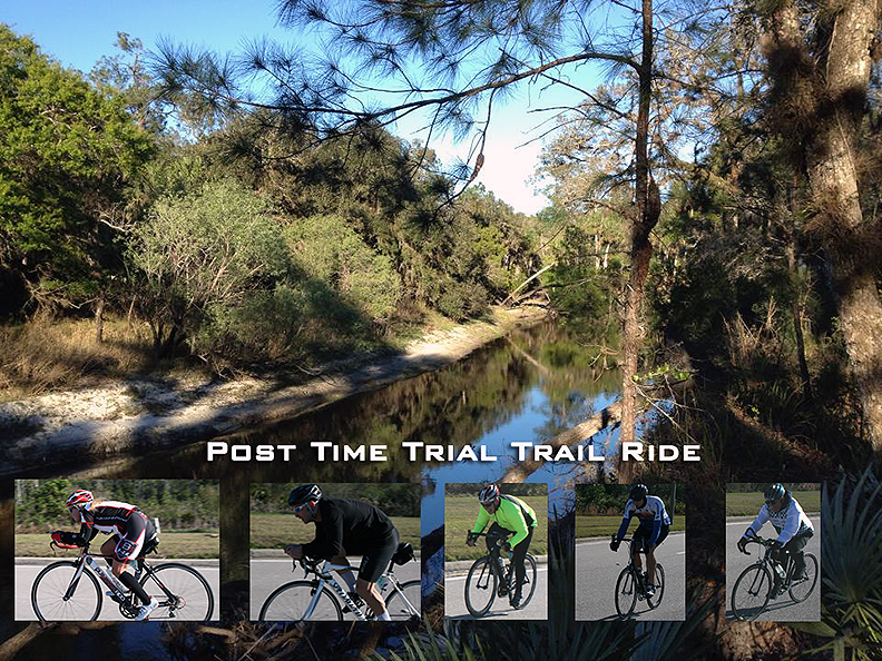 Time Trial and a Trail Ride?  Why Not?