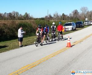 William Thomas starting the last four riders.