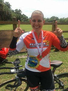 """Introducing Florida State TT Championship (Women's cat 4, 20K):  Miss Brooke Botterill"""
