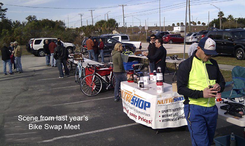 Bike Works Swap Meet for Charity